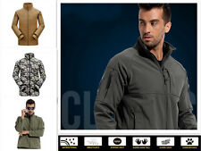 Outdoor Military Tactical Soft Shell Shark skin Hiking Waterproof Coats Jacket