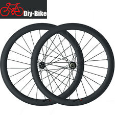 Disc Brake 50mm carbon Clincher tubular road bike wheel carbon Cyclocross wheels