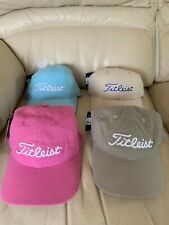 TITLEIST PINK RIBBON LADIES GOLF CAP , CHOICE OF COLOURS, CHEAPEST UK PRICE