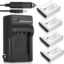 NP-45 NP-45A Battery + Charger For Fujifilm FinePix XP10 XP50 XP60 J10 J20 J100
