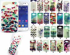 Hybrid Soft TPU Silicon Rubber Gel Skin Back Case Cover For Samsung Smartphones