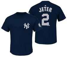 Majestic Derek Jeter New York Yankees First Game Played Commemorative T-Shirt