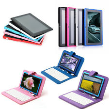 """2015 Best gift iRulu7""""Dual Core&Camera Multi-Color Tablet PC New Keyboard"""