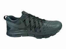 NEW MENS NIKE FREE TRAINER 5.0 CROSS TRAINERS TRAINING SHOES BLACK / ANTHRACITE