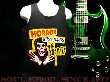 MISFITS PUNK ROCK ALTERNATIVE  HORROR BUSINESS TANK TOP MEN'S SIZES