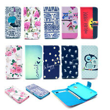 PU Leather Flip Stand Wallet Card Rubber Case Cover For Nokia Lumia 520 N520