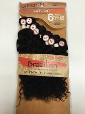 6pcs Brazilian Kinky Curly 100% Virgin Remy Human Hair Unprocessed Weft Bundle