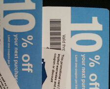 3 x COMPETITOR coupons NOT LOWE'S 10% Off at Menards HOME DEPOT Exp JULY 15th