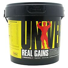Real Gains,  Universal Nutrition, 3.8 Lbs., high protein weight gainer,