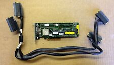 HP Smart Array P400 512MB PCI-e SAS RAID Controller 447029-001 405835-001 +Cable