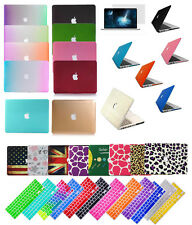 "3in1 Set/MacBook Rubberized Hard Shell Case Cover For Mac PRO13""/15""Air11""13inch"