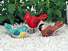 Songbird ~ Garden Bird ~ Fairy Garden Miniature ~ Pick