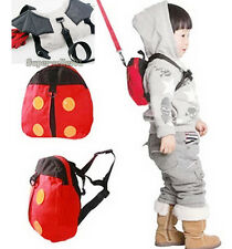 Backpack Bag Cute Harness Strap Baby Keeper Toddler Safety Rein Ladybird Fashion