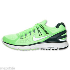 New Men's NIKE Lunareclipse+ 3 - 555337 303 - Flash Lime/Silver-Black