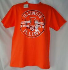 Men's Fighting Illini Illinois Athletic Department NWT T Shirt Large XL