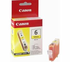 Genuine Canon BCI-6Y Yellow Ink Cartridge for Canon S800 S820 S900 S9000