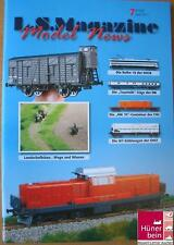 LS Models Magazine 7 April 2011 SNCB18 / SNCF OCEM +BB16500 / DB Tourist  D/F/NL