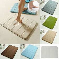Memory Foam Bath Pad Bathroom Bedroom Rug Non-slip Mats Shower Carpet 40cmx60cm