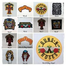GUNS N' ROSES Sew Iron On Patch Rock Band Heavy Metal Music Badge Embroidered