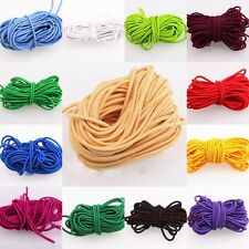 New 3MM Strong Stretchy Elastic String Thread Cord AS DIY Jewelry Making 2M/5M