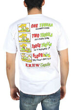 KR3W - Mens Tequila T-Shirt in White