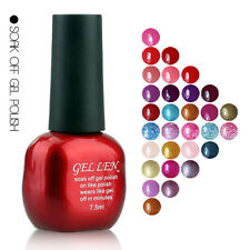 Gellen Brand UV Gel Nail Polish 7.5ml Shellac Nail Art Decoration Free Shipping
