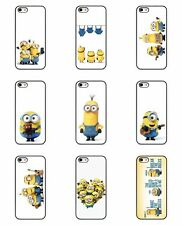 Minions Despicable Me Cartoon Funny Silicone Case Cover iPhone 5 5s 5c 6 6 Plus