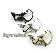 Vogue New Jewelry Gothic Punk Rock Metal Bend Fly Dragon Stud Earring Eardrop