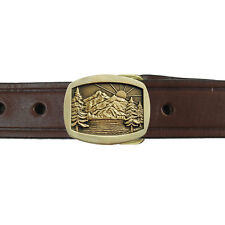 Mountain Sunrise Buckle and Belt OBMS105B IMC-Retail