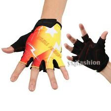 MTB Cycling Bike Bicycle Sports Motorcycle Half Finger Gloves Breathable Guantes