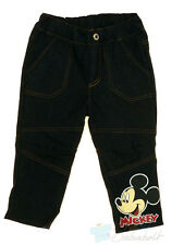 NEU!Mickey MouseJeans in Gr74/80/86/92/98/104/110/116/122 100%Baumwolle