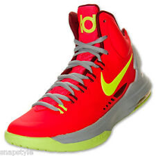 New Men's NIKE Zoom KD V 554988 610 DMV Kevin Durant Basketball Crimson Sz 10.5