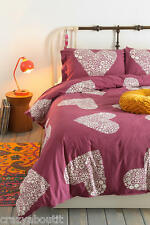 Urban Outfitters Sweetheart Duvet Cover by Plum & Bow Twin XL - PLUM - No Shams