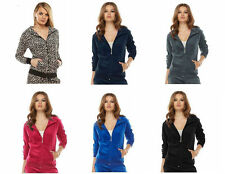 NWT Authentic Women's Juicy Couture Velour Tracksuit Hoodie/ Jacket