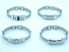 HIGH QUALITY STAINLESS STEEL  WRISTBAND MEN'S JEWELLERY BRACELET NEW COLLECTION