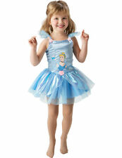 Child Disney Princess Cinderella Ballerina Kids Girl Fancy Dress Costume