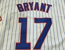 2015 Kris Bryant Chicago Cubs Authentic Home (White) Cool Base Jersey
