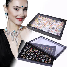 WHOLESALE Women Jewely Storage Box Jewely Organizer Box Rings Display Tray Gifts