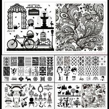 Fashion Nail Art Metal Printing Image Stamping Plates Manicure Template 20Type