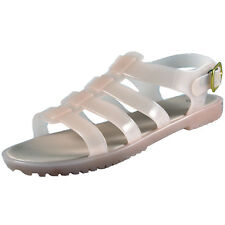 Premier Womens Open Toe Jelly Fishermans Sandals Nude *AUTHENTIC*