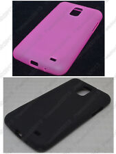 Multi Color Matting TPU Silicone CASE Cover For Samsung Galaxy S II LTE I9210