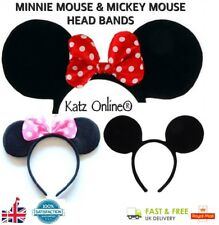 Katz Minnie Mouse Ears Mouse Ear Band Mouse Head Band Mickey Mouse Headband