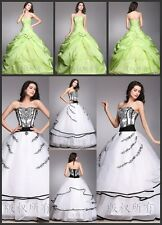 2015 New Elegant Wedding Dresses Bridal Gown Size 6/8/10/12/14/16