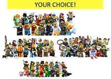LEGO SERIES 9 SERIES 8 SERIES 4 SERIES 5 MINIFIGURES COLLECTIBLE MINI HAZMAT GUY