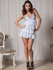Ladies Lingerie Babydoll Sexy Underwear Dress Plus Size 12 14 16 18 20