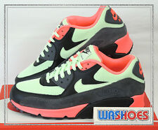 Nike Air Max 90 Essential Vapor Green Infrared Black Grey 537384-303 US 8~12 NWS