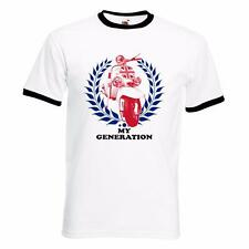 My Generation Mod Scooter Northern Soul SKA Music Mens Ringer T Shirt