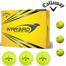 CALLAWAY WARBIRD GOLF BALLS YELLOW WARBIRD NEW 2015 DISTANCE GOLF BALLS WHITE