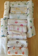 New Aden and Anais Swaddle Muslin Cotton Blanket Assorted You Pick