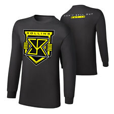 """WWE SETH ROLLINS """"BUY IN"""" LONG SLEEVE T-SHIRT OFFICIAL NEW (ALL SIZES)"""